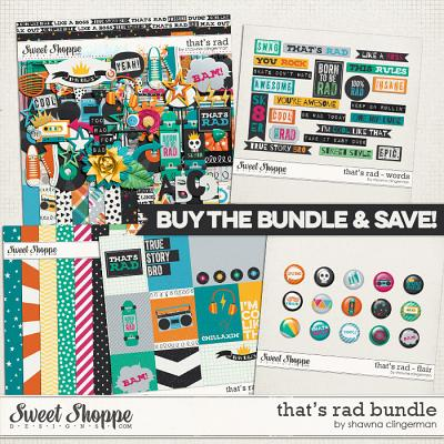That's Rad Bundle by Shawna Clingerman