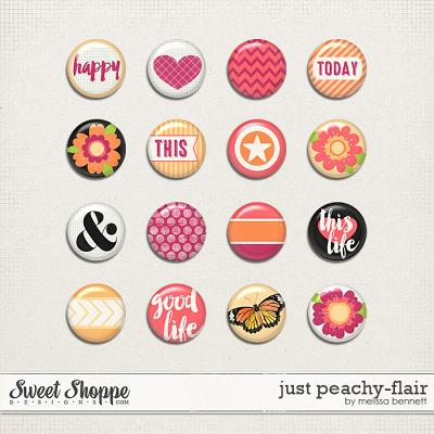 Just Peachy Flair by Melissa Bennett