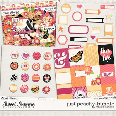 Just Peachy Bundle by Melissa Bennett