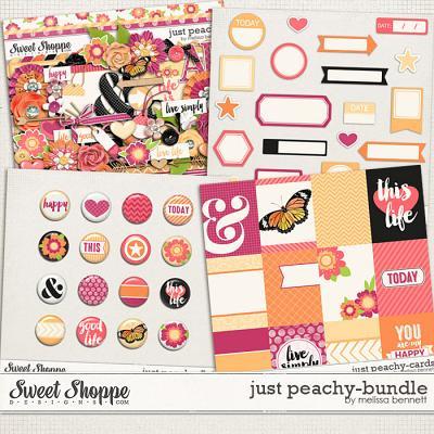Just Peachy Bundle by Melissa Bennett