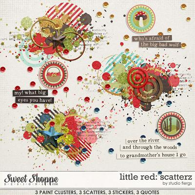 Little Red: SCATTERZ by Studio Flergs