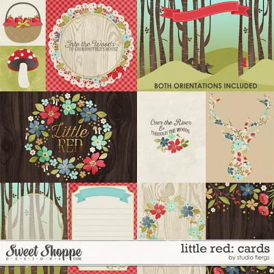 Little Red: CARDS by Studio Flergs