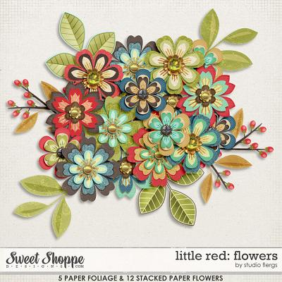 Little Red: FLOWERS by Studio Flergs
