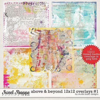 Above & Beyond 12x12 Overlays #1 by Studio Basic