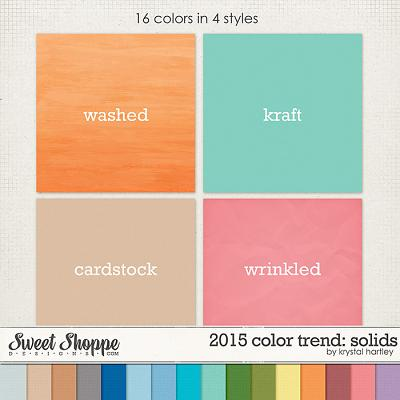 2015 Color Trend: Solids by Krystal Hartley