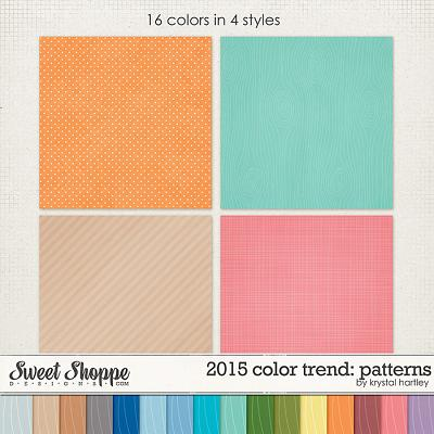 2015 Color Trend: Patterns by Krystal Hartley