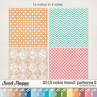 2015 Color Trend: Patterns 2 by Krystal Hartley