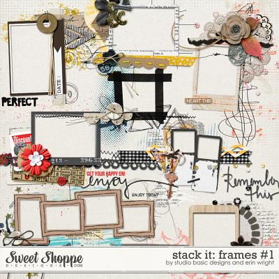 Stack It: Frames #1 by Studio Basic and Erin Wright