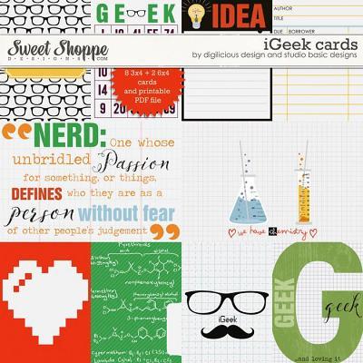 iGeek Cards by Digilicious Design & Studio Basic Design