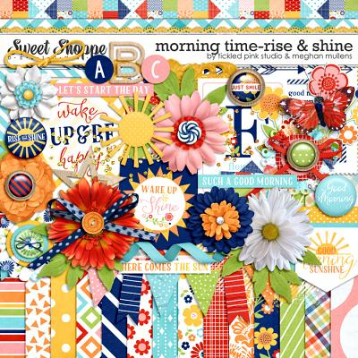 Morning Time: Rise & Shine by Meghan Mullens & Tickled Pink Studio