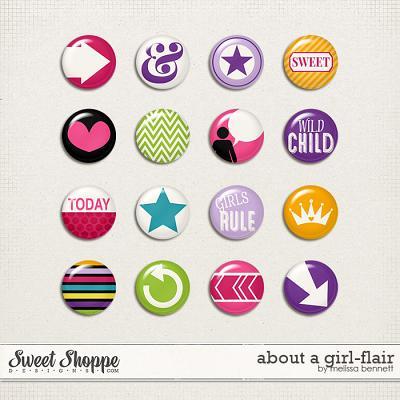 About a Girl Flair by Melissa Bennett