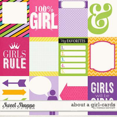 About a Girl Cards by Melissa Bennett