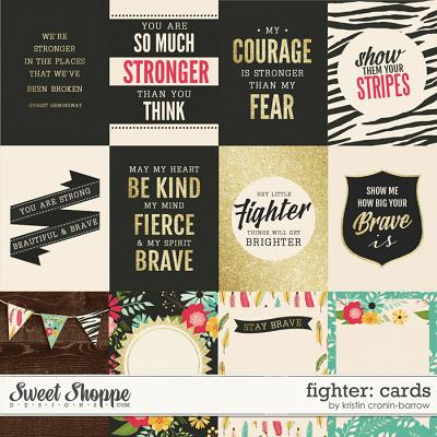 Fighter: Cards by Kristin Cronin-Barrow