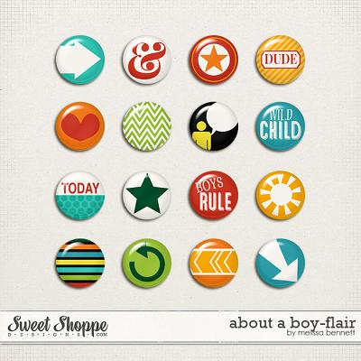 About a Boy Flair by Melissa Bennett