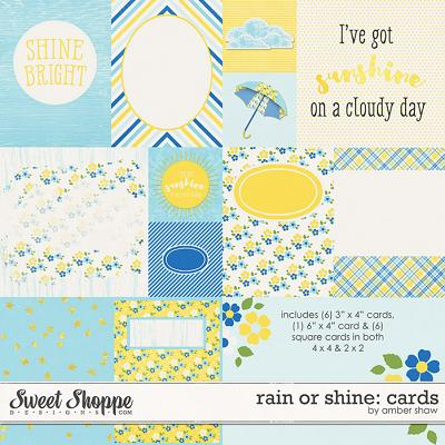 Rain or Shine Cards by Amber Shaw