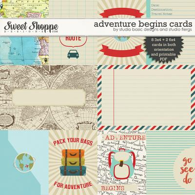 Adventure Begins: CARDS by Studio Basic Designs & Studio Flergs