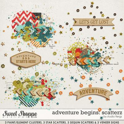 Adventure Begins: SCATTERZ by Studio Flergs