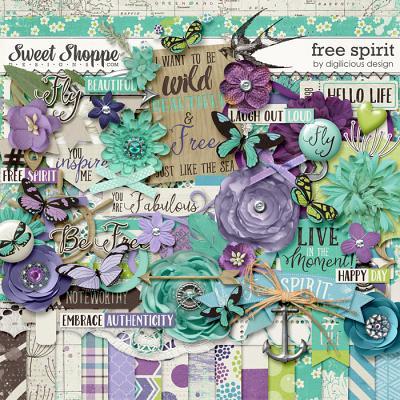 Free Spirit Kit by Digilicious Design