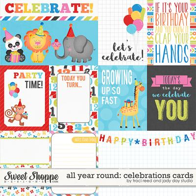 All Year Round: Celebrations Cards by Jady Day Studio and Traci Reed