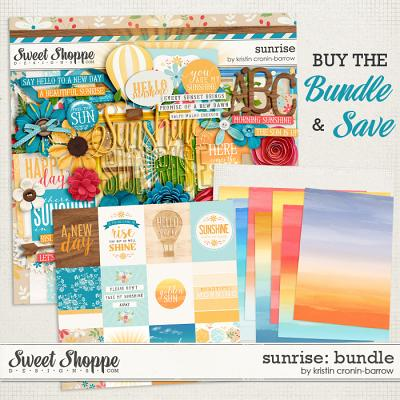 Sunrise Bundle by Kristin Cronin-Barrow