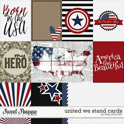 United We Stand Cards by Libby Pritchett