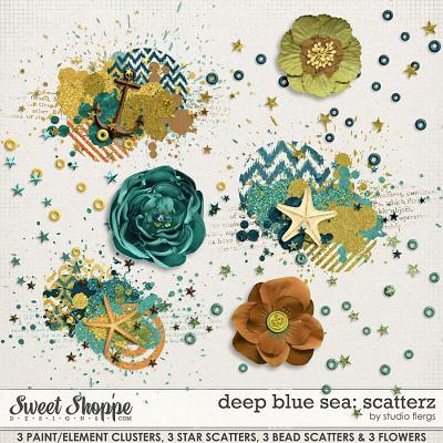 Deep Blue Sea :. SCATTERZ by Studio Flergs
