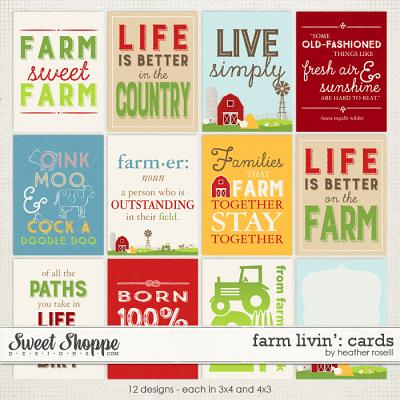 Farm Livin': Cards by Heather Roselli