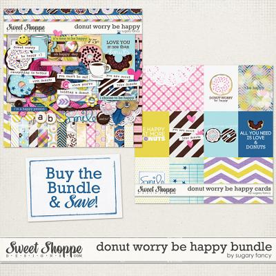 Donut Worry Be Happy Bundle by Sugary Fancy