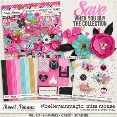 #believeinmagic: Miss Mouse Collection by Amber Shaw & Studio Flergs
