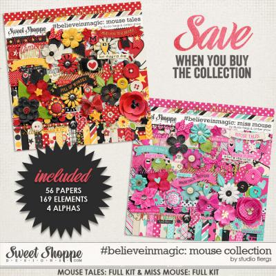 #believeinmagic: Mouse Magic Collection by Amber Shaw & Studio Flergs