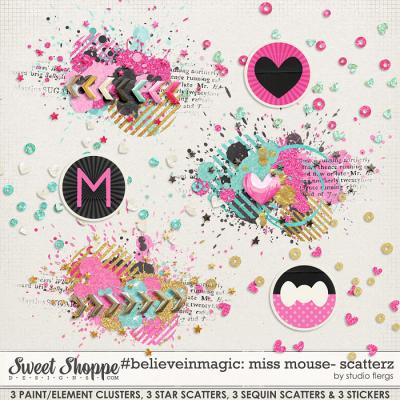 #believeinmagic: MISS MOUSE: SCATTERZ by Studio Flergs