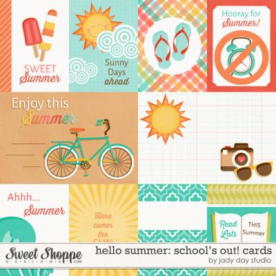Hello Summer: School's Out! Cards by Jady Day Studio