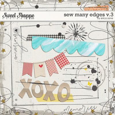 Sew Many Edges v.3 by Erica Zane