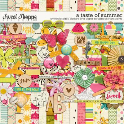 A Taste Of Summer Kit by Studio Basic and Digital Scrapbook Ingredients