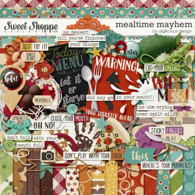Mealtime Mayhem Kit by Digilicious Design