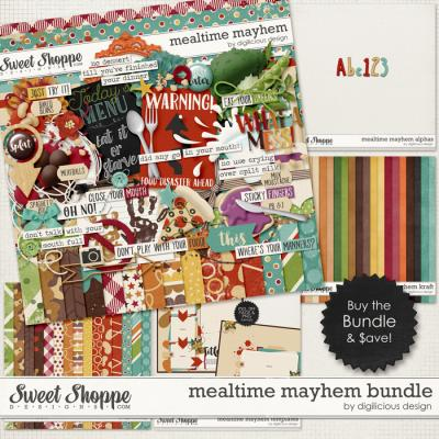 Mealtime Mayhem Bundle by Digilicious Design