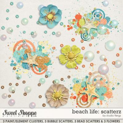 Beach Life: SCATTERZ by Studio Flergs