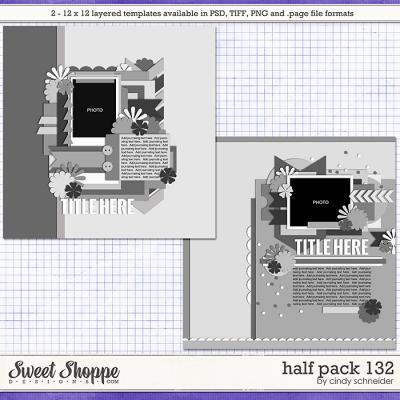 Cindy's Layered Templates - Half Pack 132 by Cindy Schneider