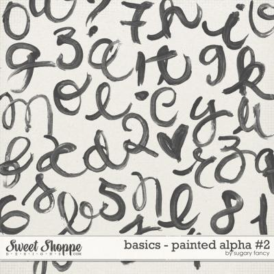 Basics - Painted Alpha #2 by Sugary Fancy