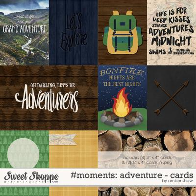 #moments: Adventure Cards by Amber Shaw