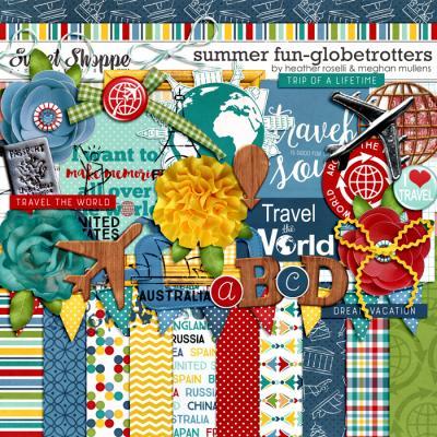 Summer Fun – Globetrotters by Heather Roselli & Meghan Mullens