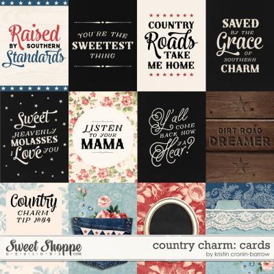 Country Charm: Card by Kristin Cronin-Barrow