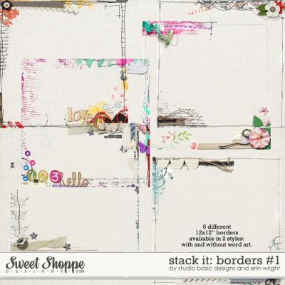 Stack It: Borders #1 by Studio Basic and Erin Wright