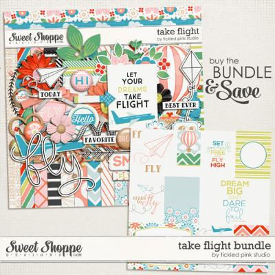 Take Flight Bundle by Tickled Pink Studio