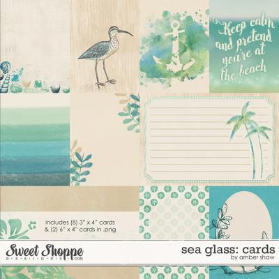 Sea Glass Cards by Amber Shaw