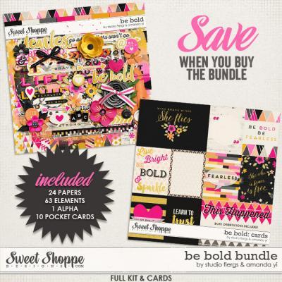 Be Bold: BUNDLE by Studio Flergs & Amanda Yi
