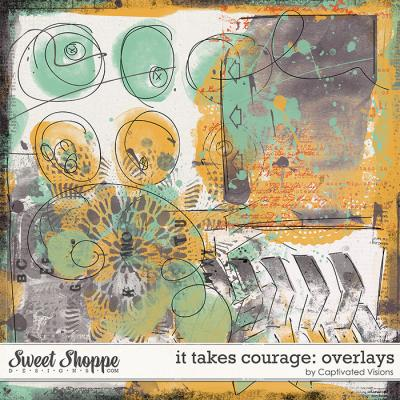 It takes courage: Overlays by Captivated Visions