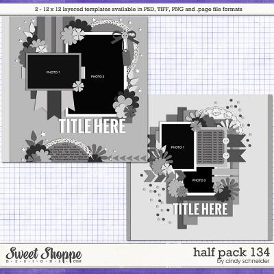 Cindy's Layered Templates - Half Pack 134 by Cindy Schneider