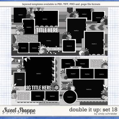 Cindy's Layered Templates - Double It Up Set 18 by Cindy Schneider