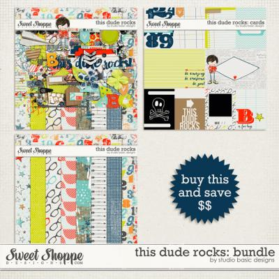 This Dude Rocks: Bundle by Studio Basic